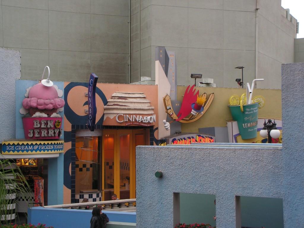 Fast food à Horton Plaza