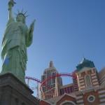 La Statue de la Liberté et le Roller Coaster
