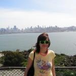 Jolie vue de SF depuis l'ile !