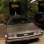 La fameuse DeLorean de Retour vers le future !