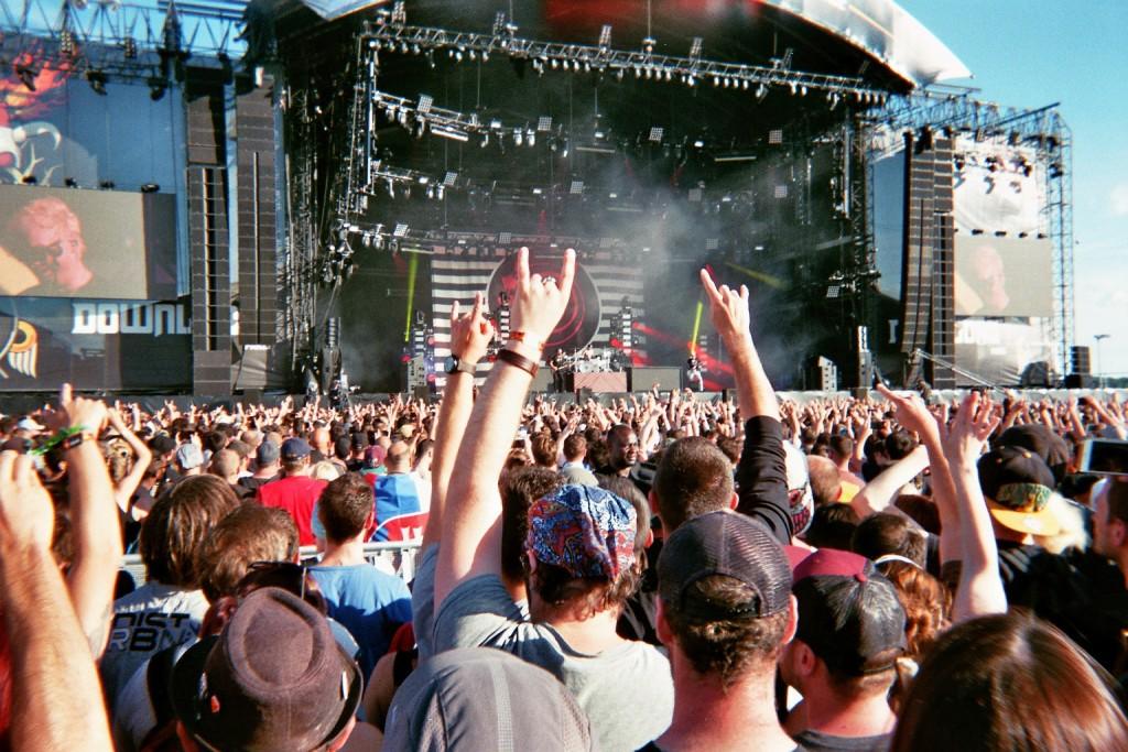 Concert de Blink 182