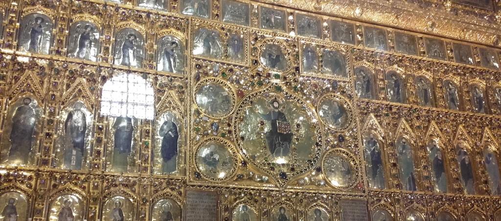 venise basilique saint marc or pierres précieuses