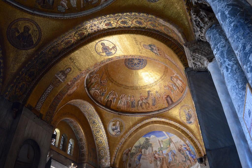 venise basilique saint marc intérieur