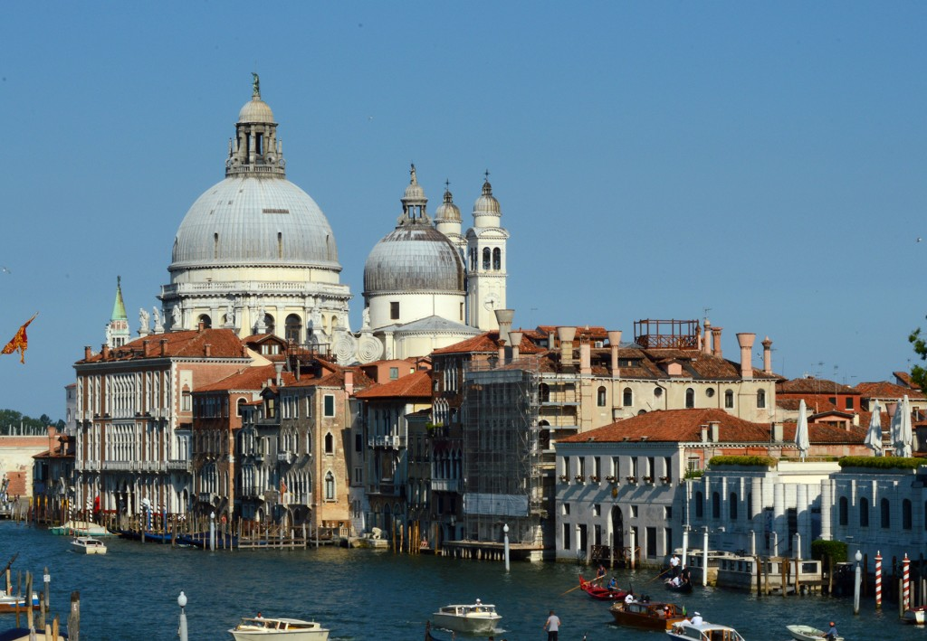venise grand canal eglise