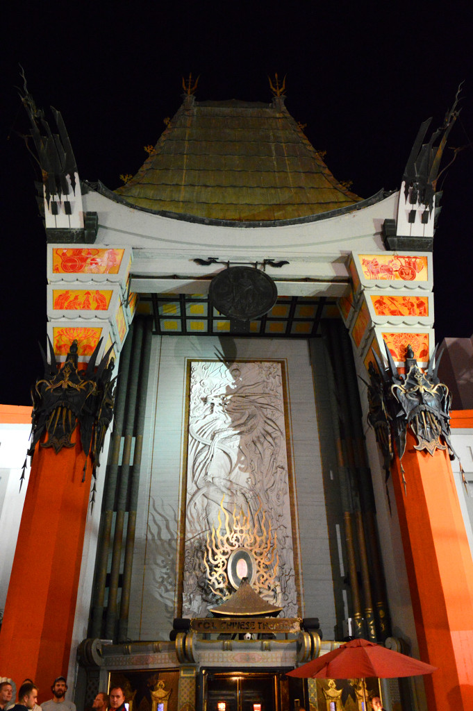 Entrée du chinese theater