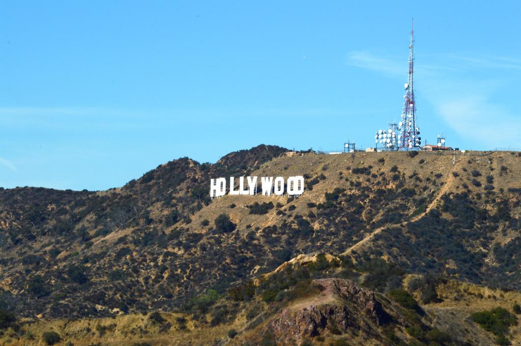 Panneau Hollywood sur sa colline