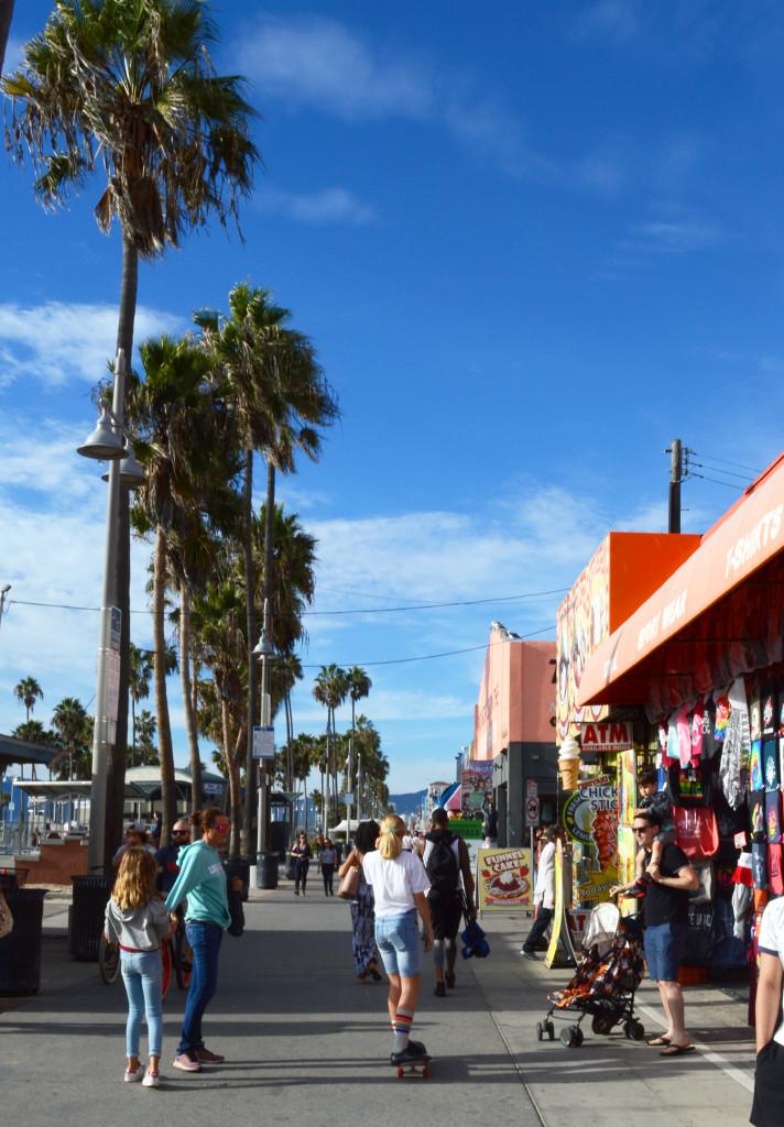 Skateuse à Venice Beach