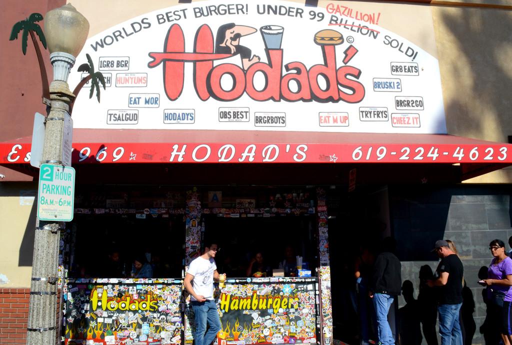 l'entrée de hodad's