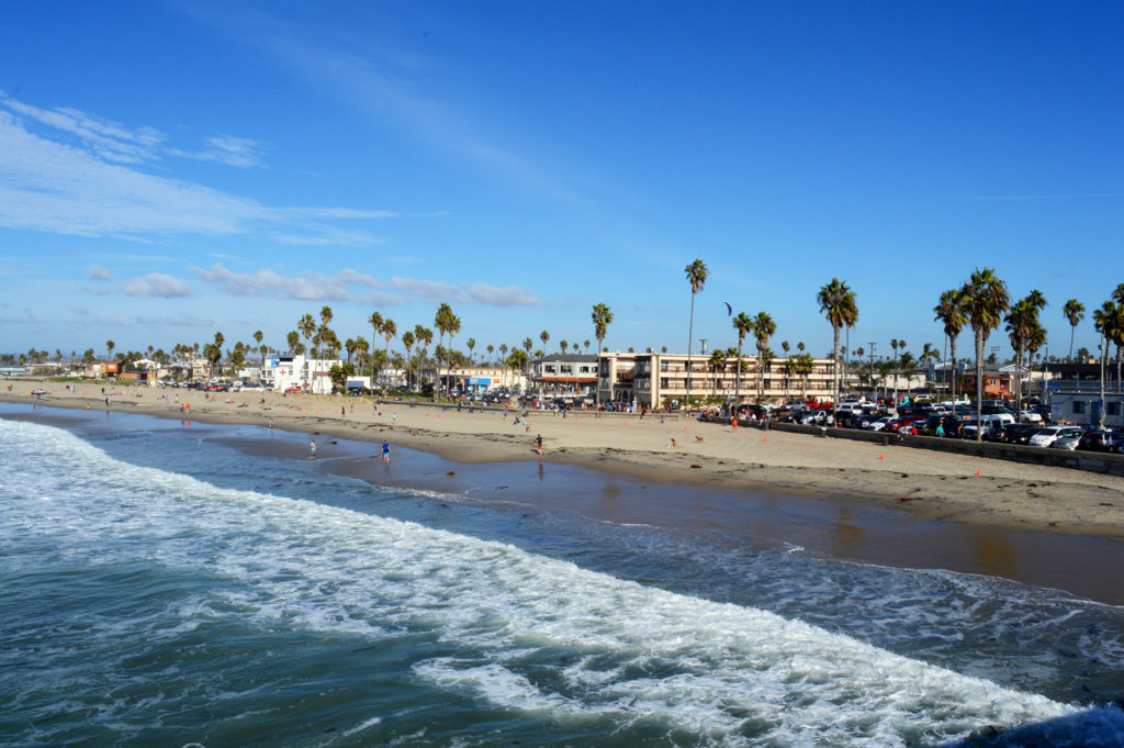 plage de Ocean beach