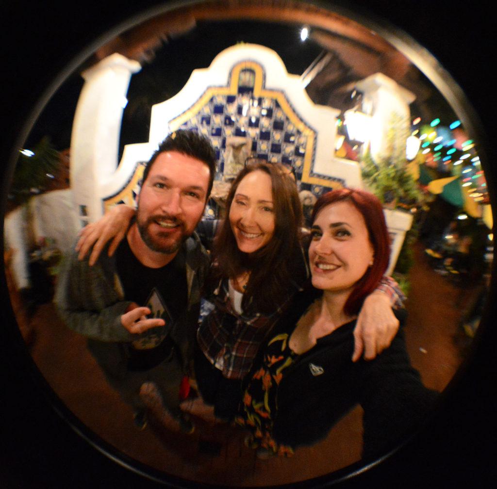 nous et notre amie Daniela