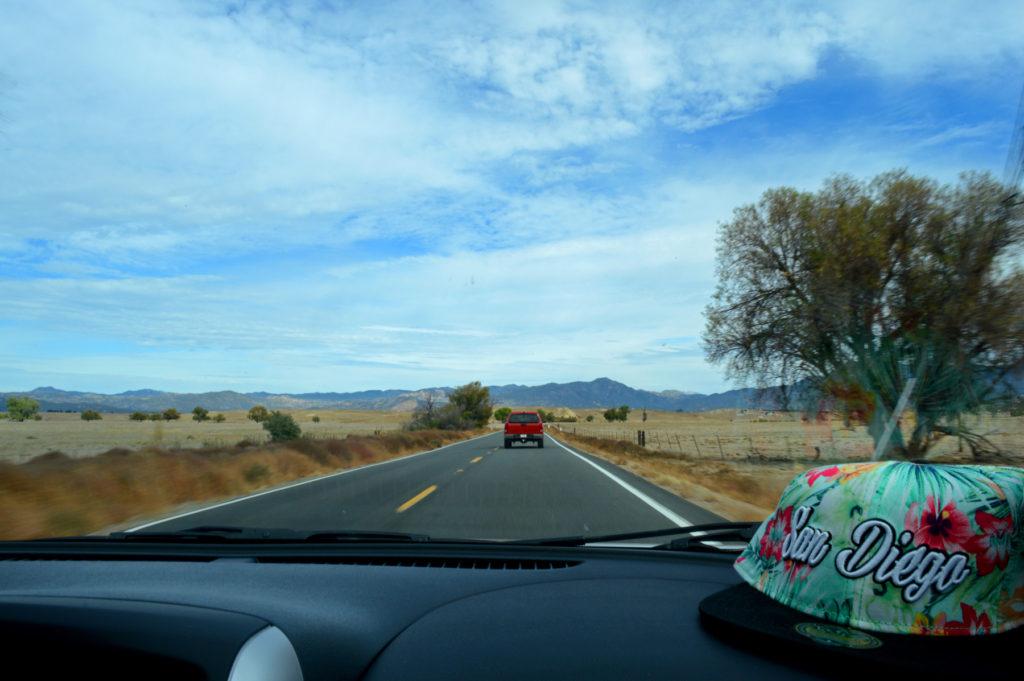 Sur la route en Californie