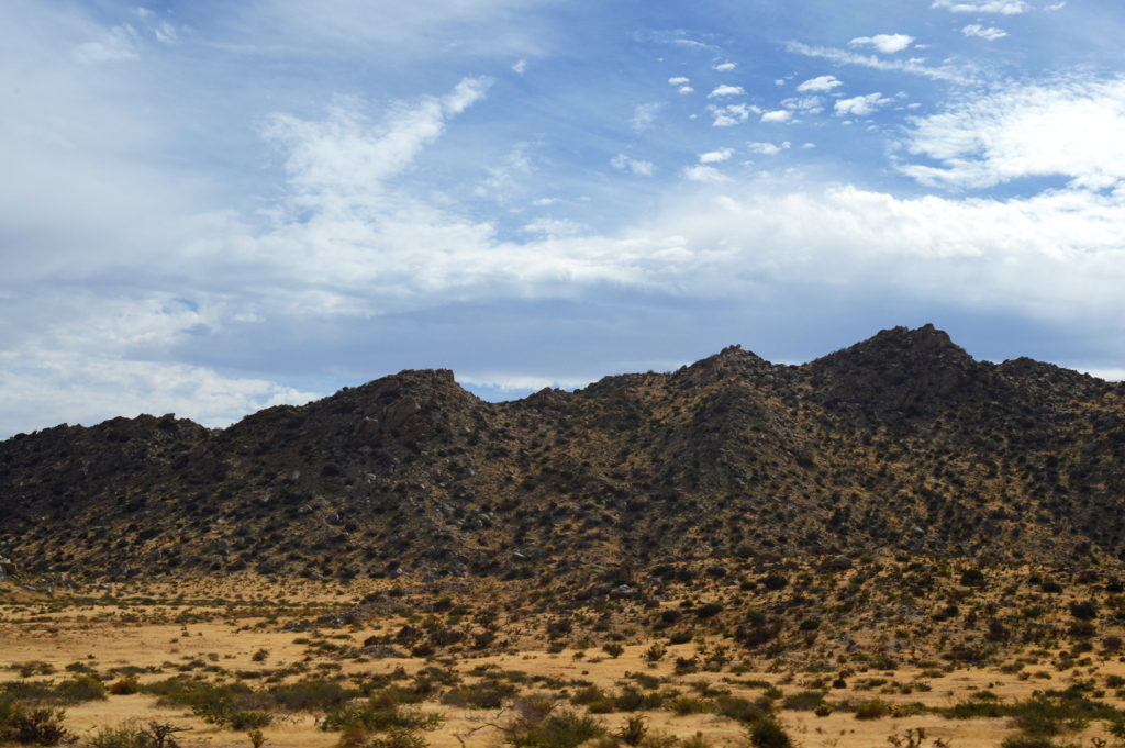 Les collines californiennes, Anza Borrego