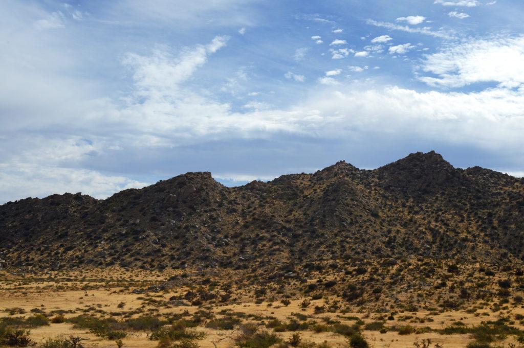 Les collines californiennes, Anza Borrego