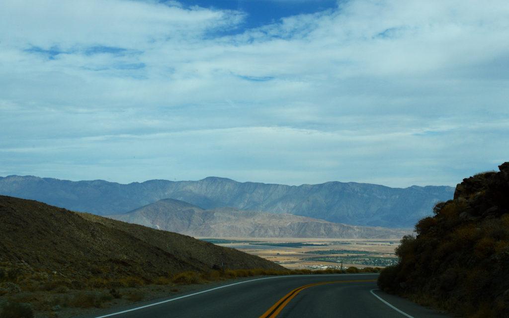 Sur la route dans Anza Borrego