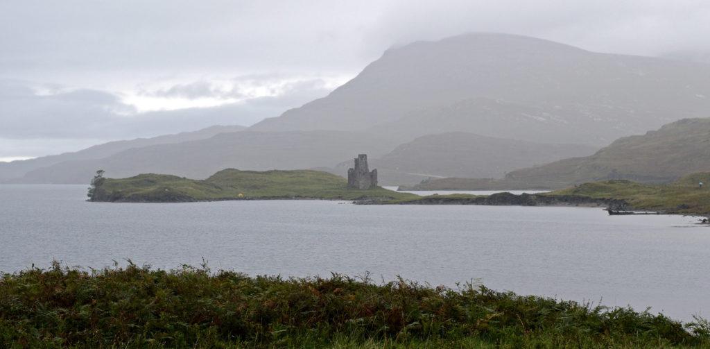 Ardvreck castle dans les highlands
