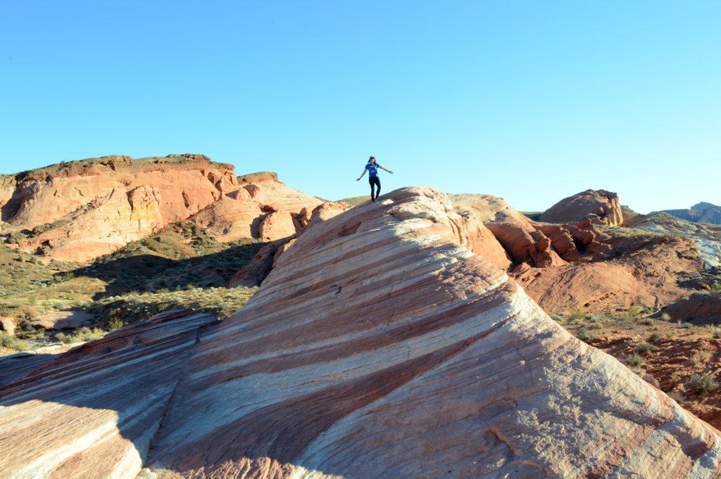 Mandy sur le rocher