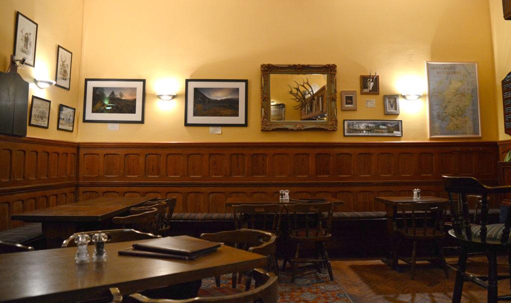 intérieur de la salle à manger