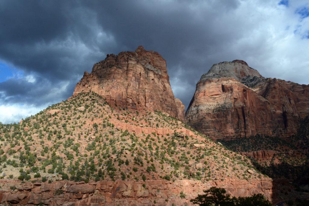 au milieu du canyon