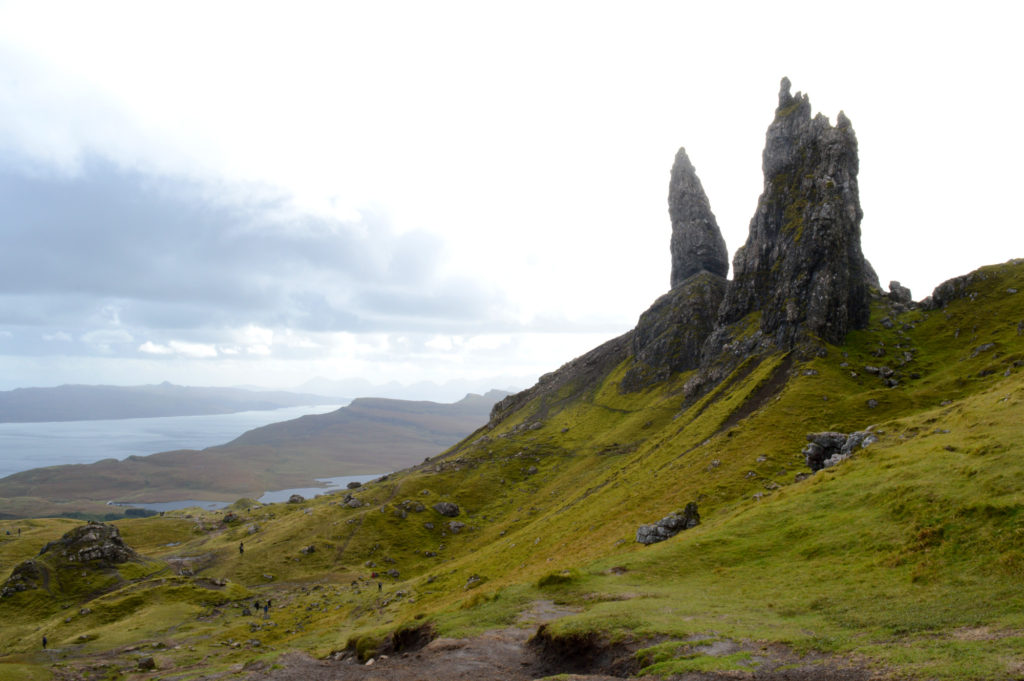 vue sur le old man of storr