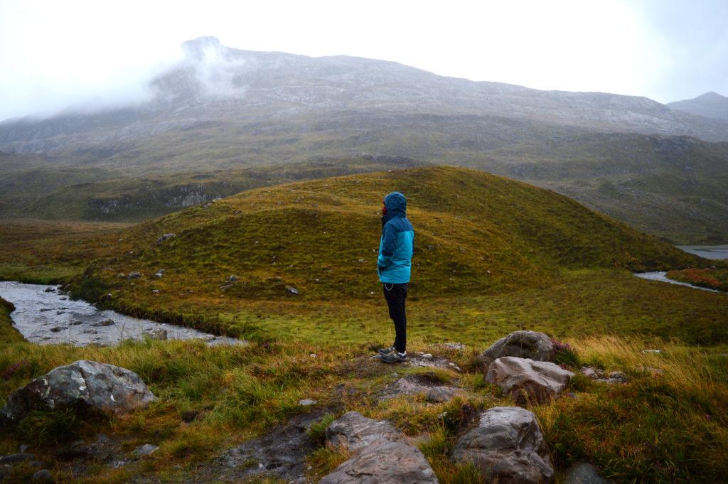 dans la réserve Beinn Eighe