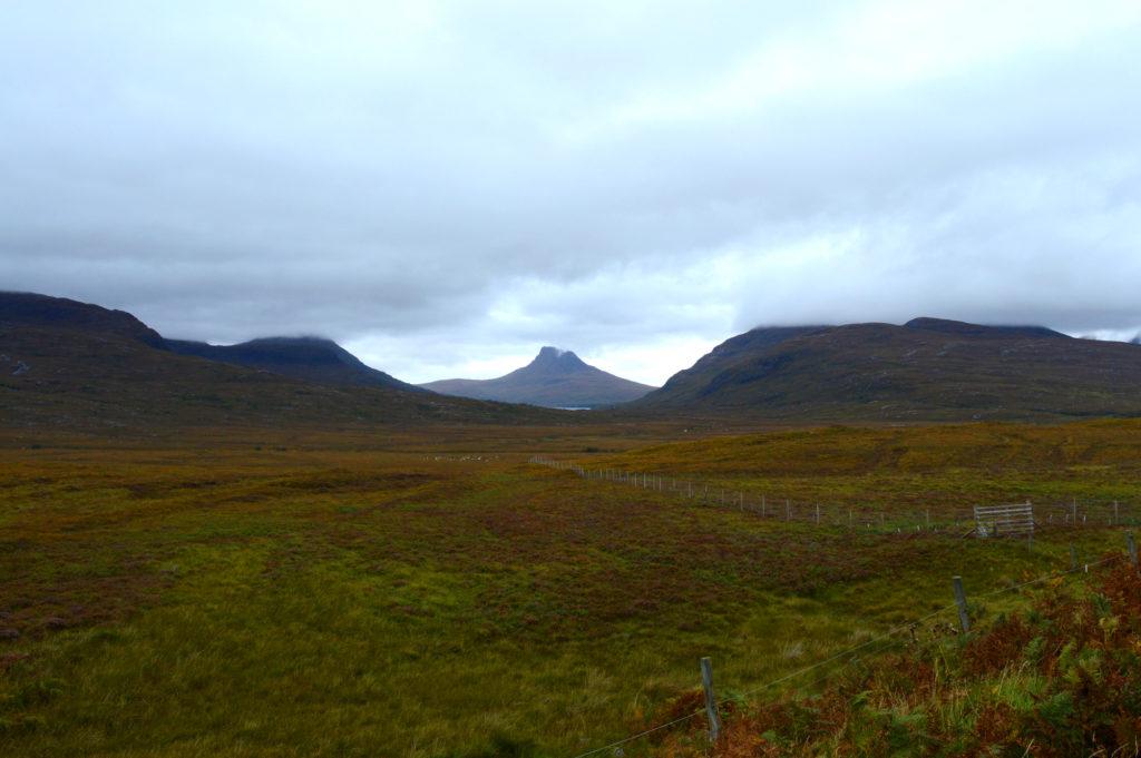 montagne Stac Pollaidh dans les highlands
