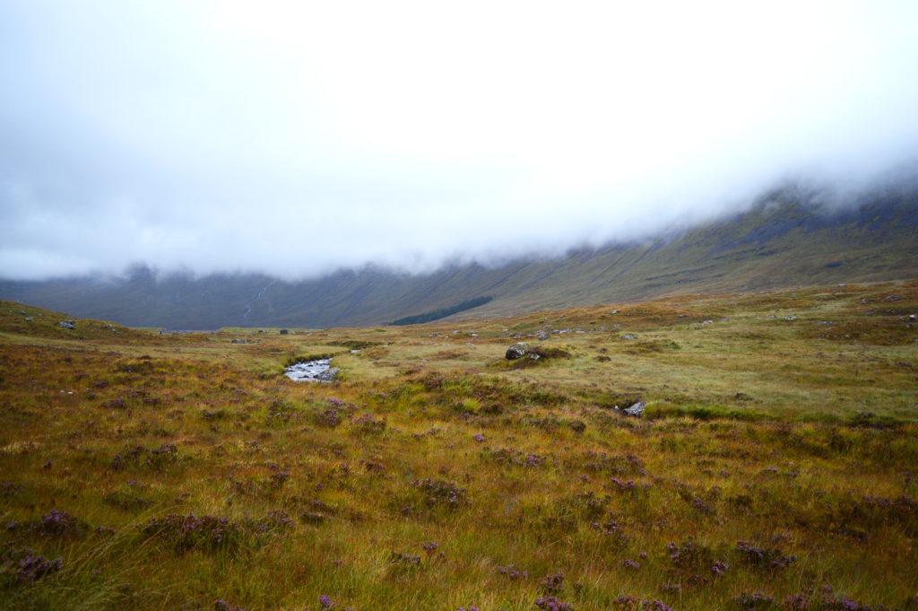 nuages bas dans les highlands