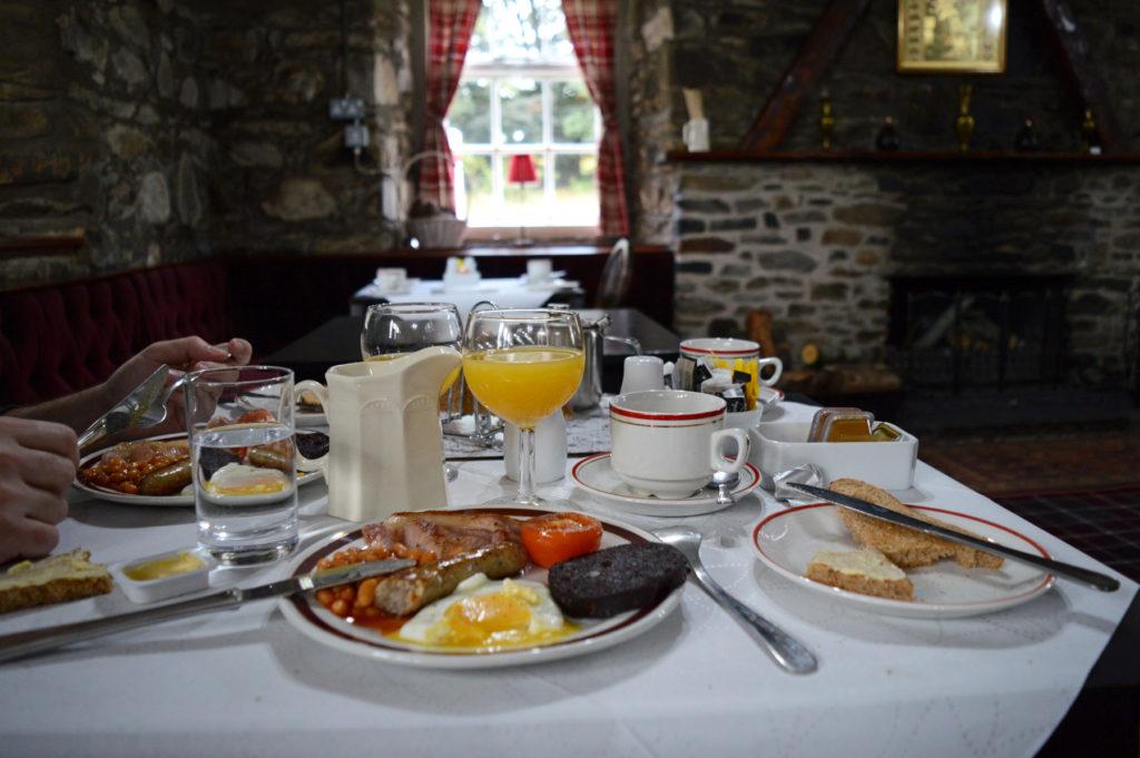petit déjeuner écossais