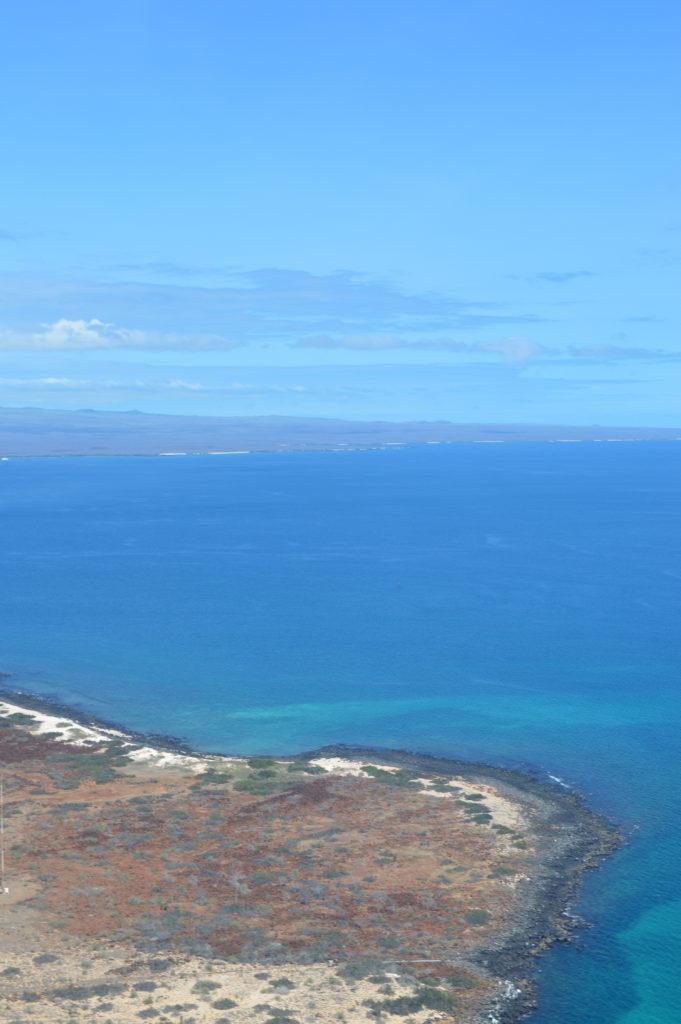 île vue du ciel