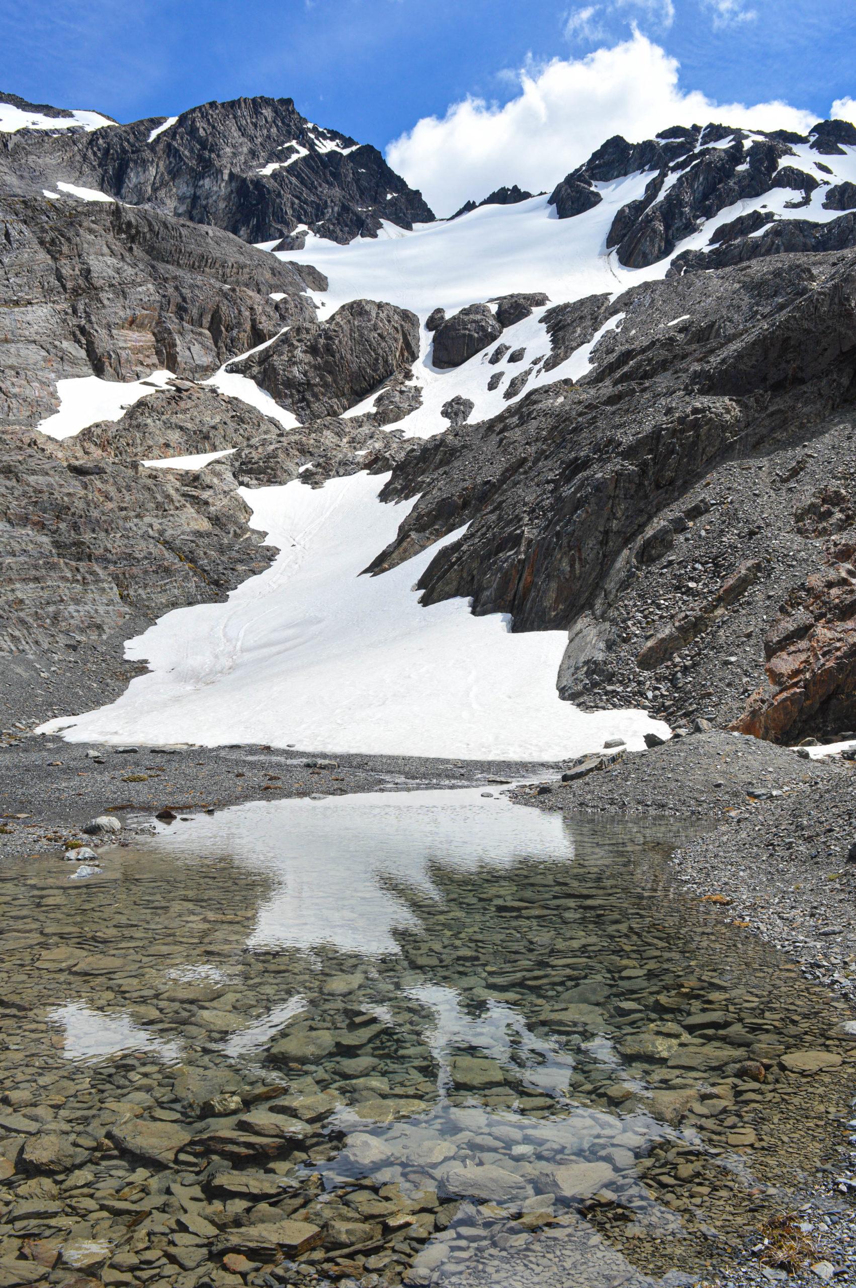 glacier rivière