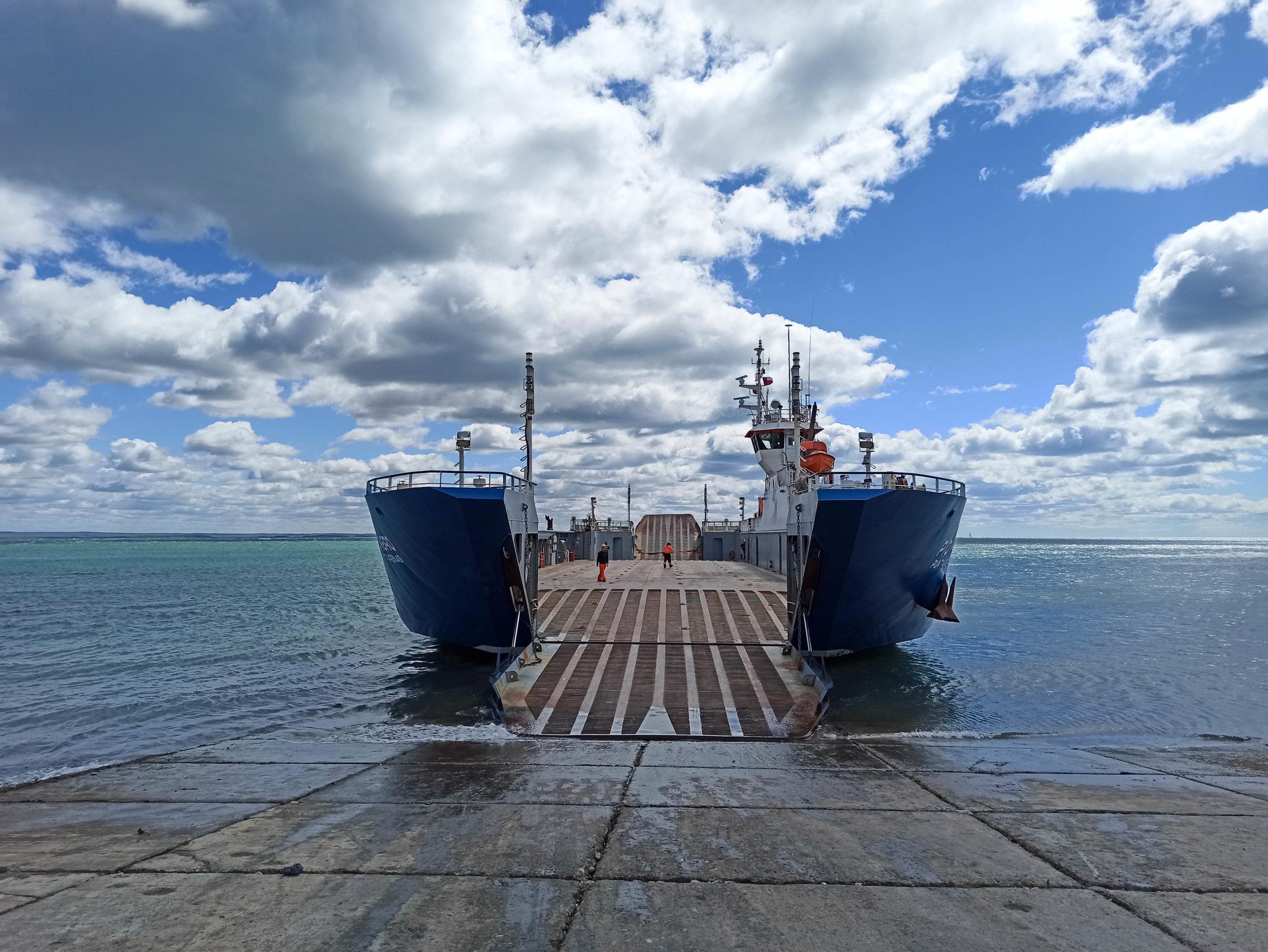 ferry détroit magellan