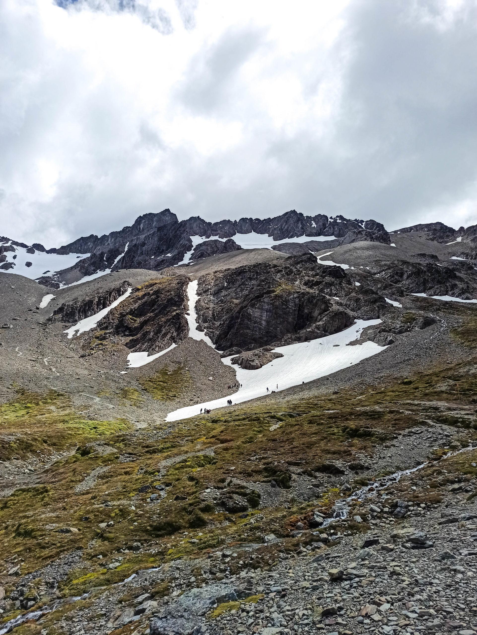 randonnee glacier martial