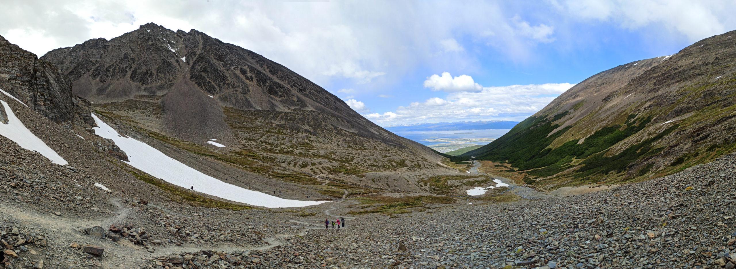panorama vue ushuaia