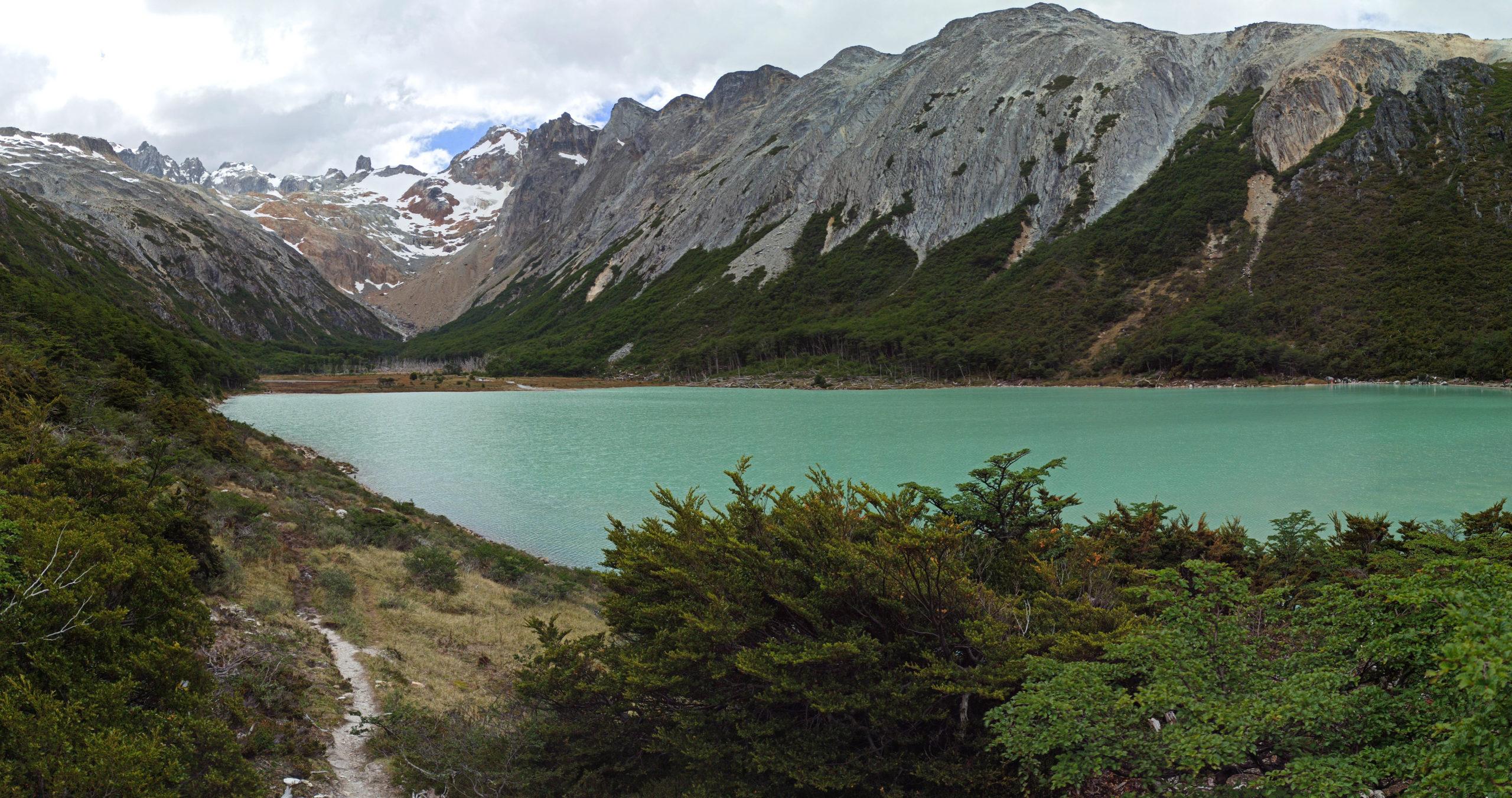 panorama laguna esmeralda