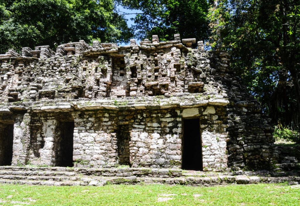 ruines de yaxchilan, chiapas, mexique