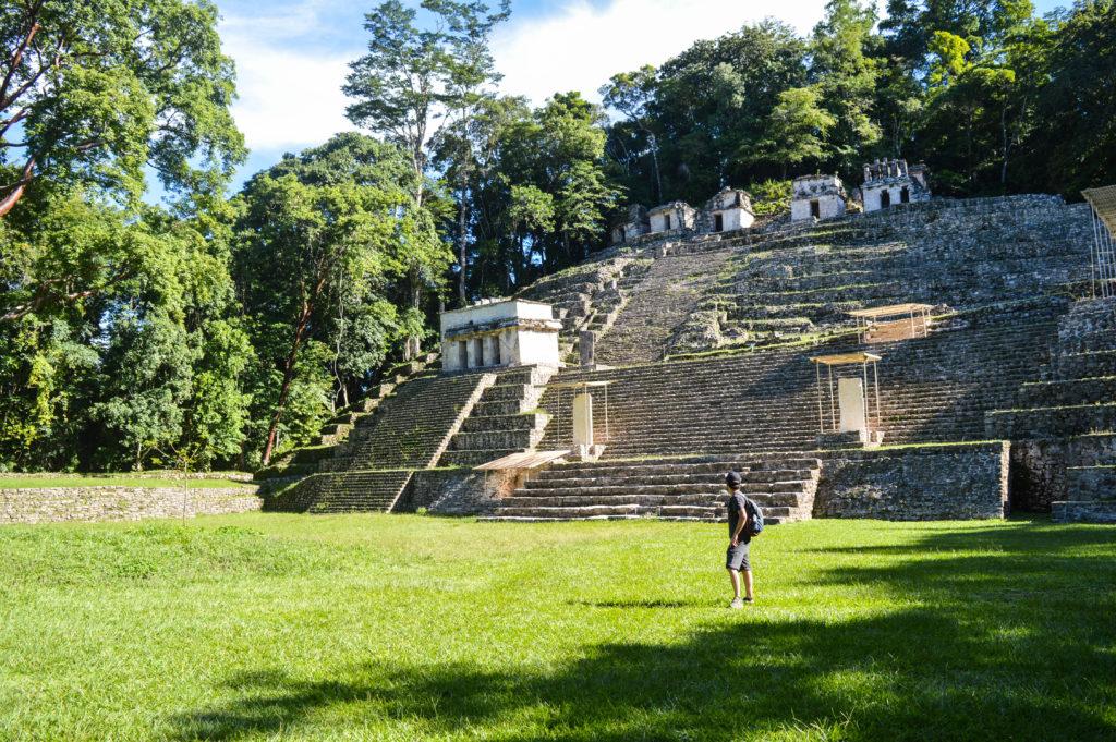ruines mayas à étages de bonampak, visite du chiapas, mexique