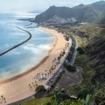 grande plage las teresitas, tenerife, canaries